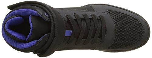 Black Schwarz Smooth Gent Sneaker Calvin Rub Klein Herren Nylon 7OwPR