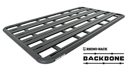 (Rhino-Rack USA JA9965 Pioneer Platform Roof Rack Tray Incl. Mount Kit 84 in. x 49 in. 4 Planks Incl. Cross Bar Assembly Required Pioneer Platform Roof Rack Tray)