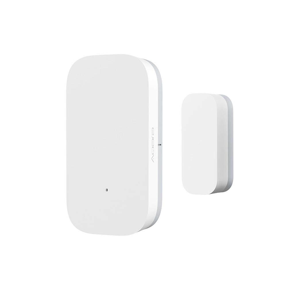 Fornateu T/ür-Fenster-Sensor ZigBee Wireless-Verbindung Smart-Mini T/ür-Sensor Arbeit mit Android IOS App Steuerung