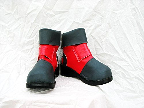 Yu-gi-oh! Gx Jaden Yuki Scarpe Cosplay Stivali Su Misura