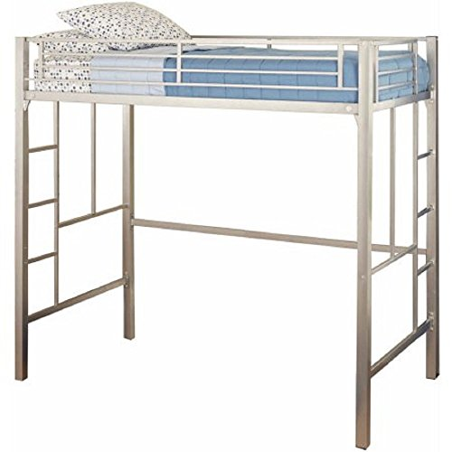 Your Zone Metal Loft Twin Bed Silver Buy Online In Uae