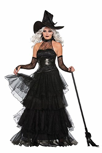 Hillbilly Sexy Costumes (Sexy Ember Witch Halloween Costume Adult Women Dress Vampiress Black)
