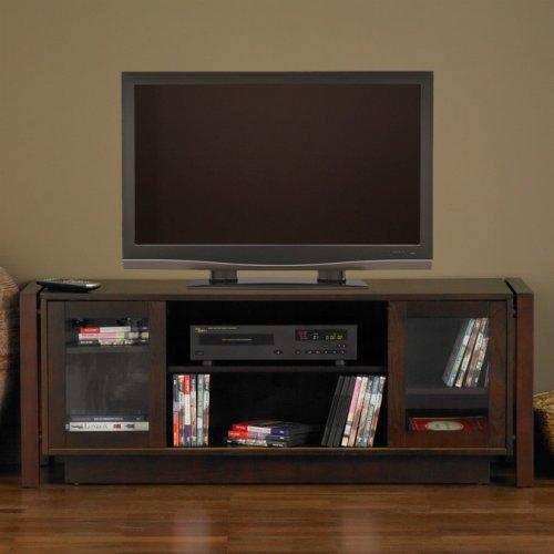 SEI 52-Inch TV and Media Console, Espresso