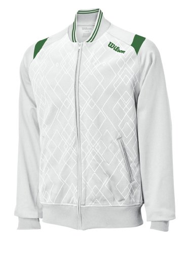 Wilson Men's Country Club Jacket(White) (Large) (Club Jacket Country)