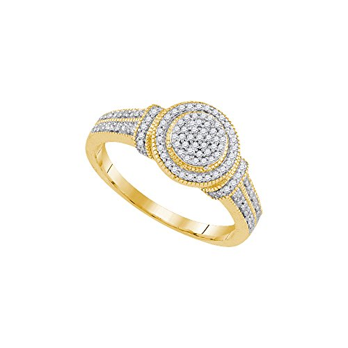 1/4 Total Carat Weight DIAMOND MICRO-PAVE RING by Jawa Fashion