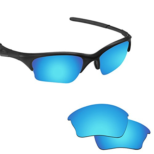 Fiskr Anti-saltwater Polarized Replacement Lenses for Oakley Half Jacket XLJ Sunglasses (Lenses Oakley Jacket Half)