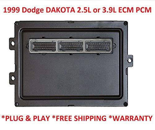 1999 Dodge DAKOTA 2.5L or 3.9L Engine Control Module/Computer ECM PCM ECU Remanufactured plug and play (For Dodge) (Dodge Dakota Engine Control Module)