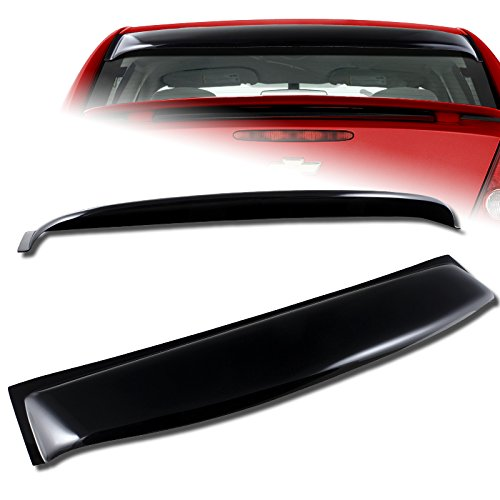 2005-2010 Chevy Cobalt 4-DR Black Acrylic Rear Window Roof Visor Spoiler