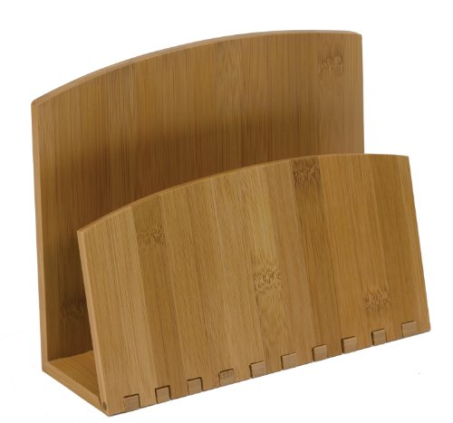(Meadowsweet Kitchens Bamboo Recipe File or Napkin Holder)