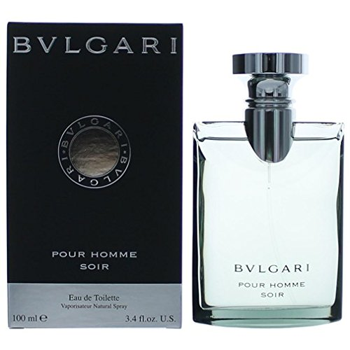 Bvlgari Pour Homme Soir By Bvlgari For Men. Eau De Toilette Spray 3.4 - Homme Parfums