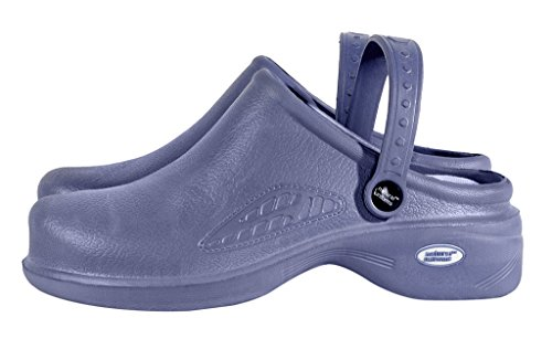 M & M Scrubs Femmes Infirmière Légère Chaussures / Sabots Dallaitement 11 B (m) Us Ceil Bleu