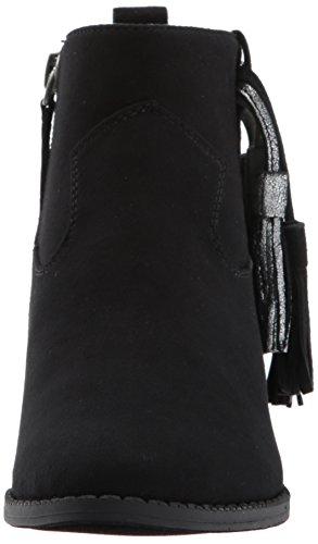 Dolce Vita Girls' Jemma Ankle Boot, Black Microsuede, 3 Medium US Little Kid by Dolce Vita (Image #4)