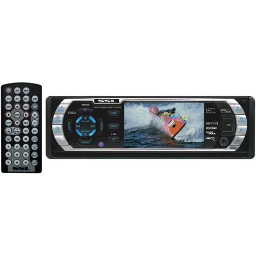 Soundstorm SD632 3.2-Inch In-Dash DVD Player