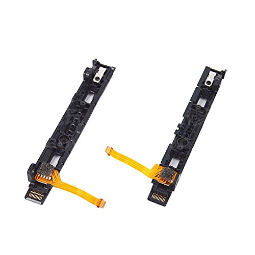 Feicuan Replacement Left and Right L/R Slider Assembly with Flex Cable Parts Repair for Nintendo Switch Controller Joy-Con by Feicuan