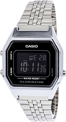 Casio Ladies Mid Size Digital 680WA 1BDF