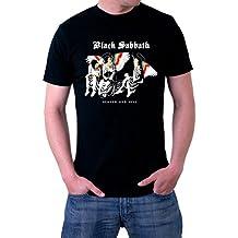 Black Sabbath Heaven And Hell Ozzy Dio Logo Men's T-Shirt