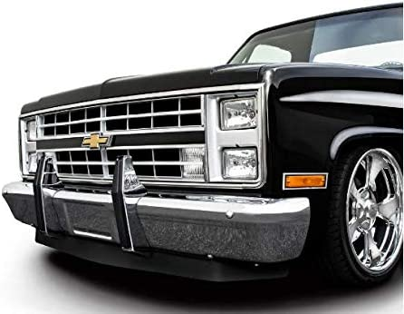 GMC C20 Sold as Pair Squarebody 1981-1987 Chevrolet Truck KNS Accessories KC2721 Chrome Steel Bumper Guards C10