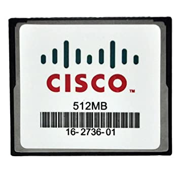 Amazon.com: 512 MB Cisco Compact Flash CF tarjeta de memony ...