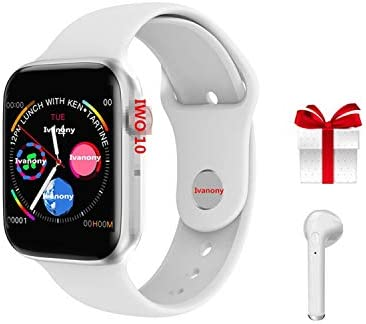 Amazon.com: Reloj inteligente con Bluetooth para Apple Watch ...