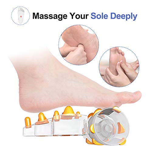 RENPHO Foot Massager with Heat, Adjustable Vibration Speed Electric Shiatsu Foot Massager with Deep Rolling Kneading…