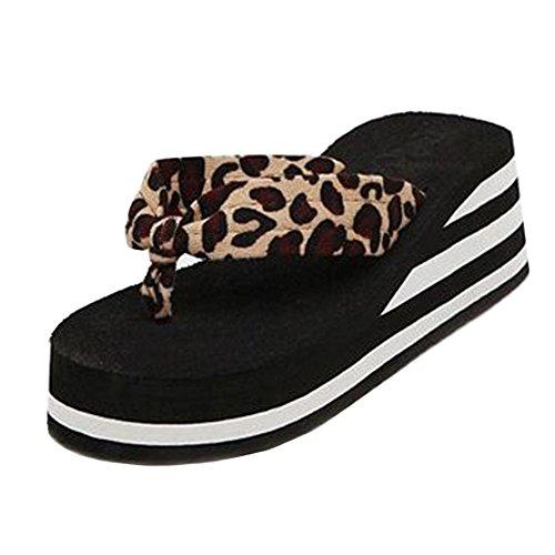 COOLCEPT Damen Clip Toe Sommer Slides Schuhe