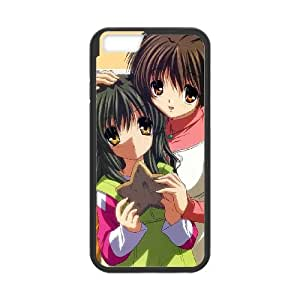 Clannad iPhone 6 Plus 5.5 Inch Cell Phone Case Black xlfi