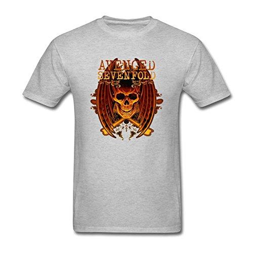 YLIN Men's Avenged Sevenfold Logo T-shirt