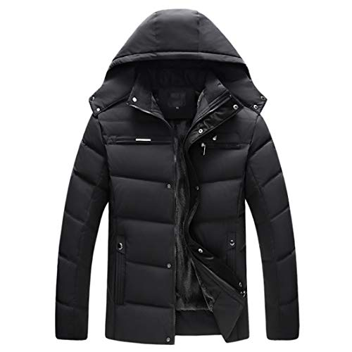 Aiweijia Winter Clothes Coat Outwear Men's Outwear Warm Man Teenager Cotton Clothing Fashion Windproof rFrqZ