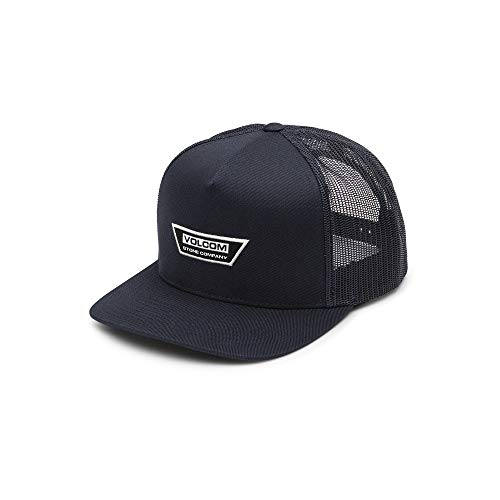 Volcom Men's Trapezoid Five Panel Cheese Hat, Navy, One Size Fits ()