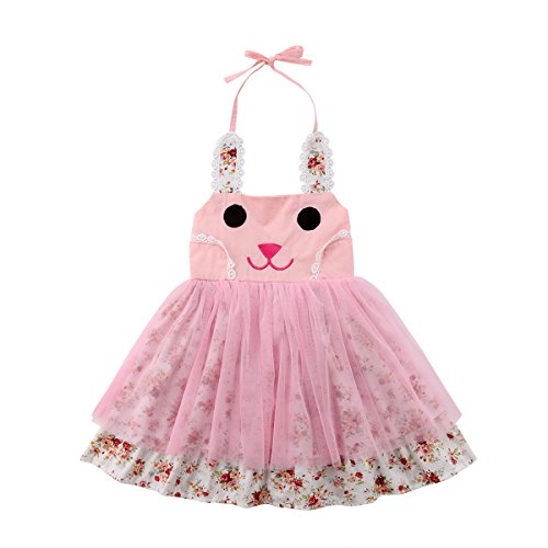 - Little Girls Baby Princess Dress Long Sleeve Tutu Tulle Dress for Party or Birthday (Rubbit, 2-3T)