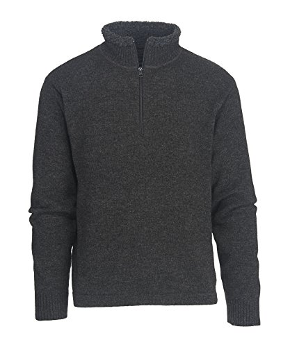 Woolrich Men's Rocky Oaks Lambswool Half Zip Sweater