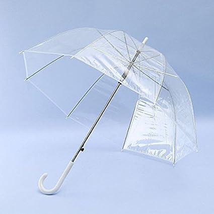 Claro Dome Opacidad mango largo Paraguas Transparente