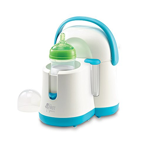 The First Years Night Cravings Bottle Warmer & Cooler, Blue/White Bottle Maker