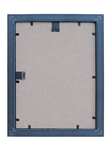 Random Photo Frames (Synthetic Wood, 25 cm x 25 cm x 7.5 cm, Black, Set of 11)
