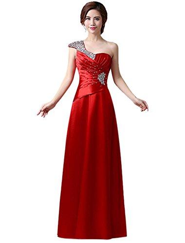 Kleid Drasawee Kleid Rot Empire Drasawee Damen Empire Damen dRSHqwS