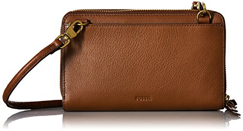 Fossil Raven Wallet Crossbody, Brown by Fossil