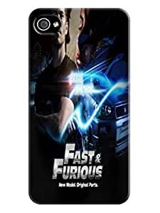 Durable Phone Protection Case/cover fashionable Fast and Furious TPU Designed for iphone 4/4s