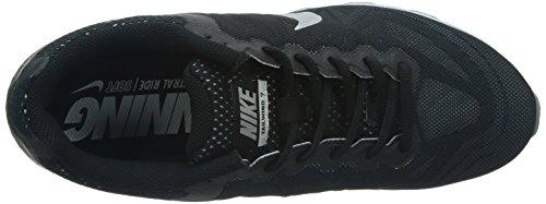 De Los Hombres Nike Air Max Viento De Cola 7 Zapatilla Negro / Plata Metálica / Pr Platino / Mgn Oscura Liquidación perfecta Venta El más barato Amazon Footaction W2PCOEsBV