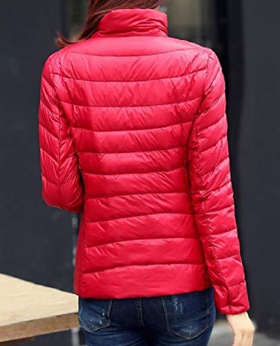 As1 Collare Del Ultra Plus Leggero Giù Il Basamento Mogogowomen Packable size Cappotto q7U6aWwP