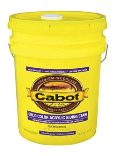 Valspar 208499 Cabot Exterior Solid Color Acrylic Siding Stain