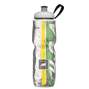 Polar Bottle Insulated Water Bottle (24-Ounce) (Green/Yellow)