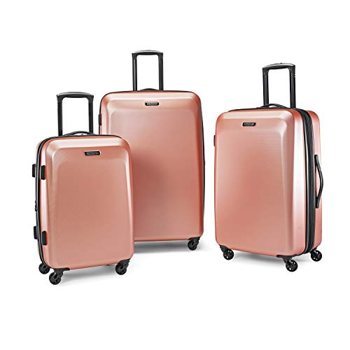 American Tourister 3-Piece Set, Rose Gold American Tourister Luggage Set