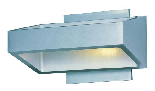 ET2 E41302-SA, Alumilux LED Outdoor Wall Sconce, 18 Light, 0.3 Total Watts, LED, Satin Aluminum