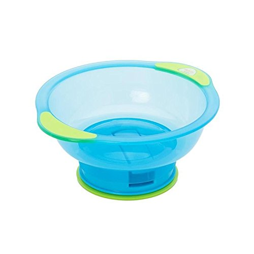 Vital Baby Suction Bowl Unbelievabowl, Blue/Green - Pack of 6