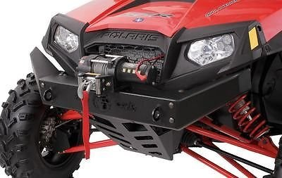 Bad Dawg Front Bumper with Winch Mount for Polaris RZR 800/S/570/4 800 793-9002-00 (Rzr Winch Bumper)