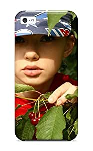 Premium Young Milena With A Cap Back Cover Snap On Case For Iphone 5c