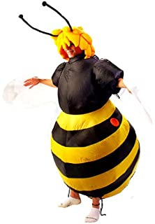 05499bb9898a P'tit Clown - 90419 - Inflatable Bee - Adult Fancy Dress Costume - One
