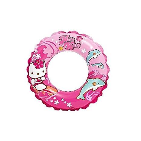 INTEX - Flotador hinchable Hello Kitty 51 cm - 3/6 años (56200)