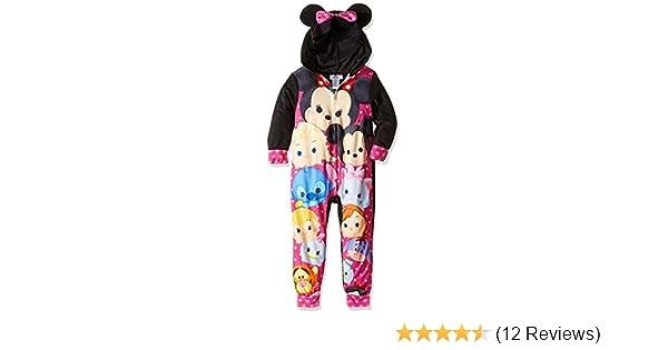 a34b0c556 Amazon.com  Tsum Tsum Girls Fleece Union Suit One Piece Pajamas ...