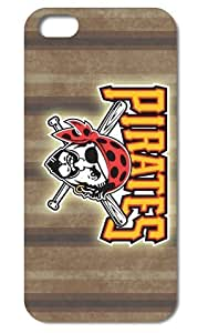 Forever Collectibles Official Licensed MLB iPhone5 5S Rugged Case Pittsburgh Pirates